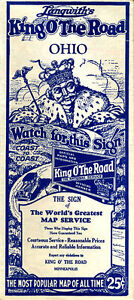 Details about 1931 Ohio Road Map from Langwith's King O' The Road on king water, king county map, king airport maps, king calligraphy, king fire maps,