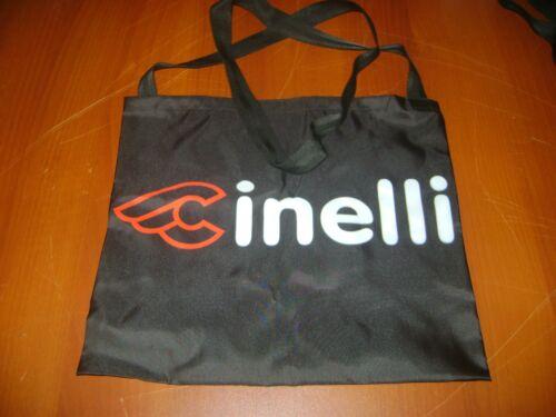 ITALIA BIKE MUSETTE BLACK CINELLI BIKE BAG MESSENGER FIXED PISTA CLASSIC MASH
