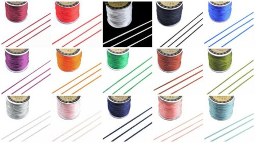 GR8 4 KUMIHIMO 5M x 1.5mm Premium Rattail Satin Cord 15 Colours lady-muck1