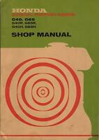 Vintage Honda Engine G40/40r/40h, G65/65r/65h Shop Service Manual (961)