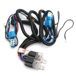 auto h4 headlight ceramic headlamp wiring harness relay 4 ... h4 headlight plug wiring diagram