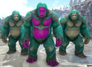 Ark Survival Evolved Xbox One PvE Aberrant Gigantopithecus Ape Unleveled 167-201