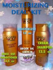CANTU SHEA BUTTER MOISTURIZING DEAL KIT COMES 4 FULL SIZES OF PRODUCT