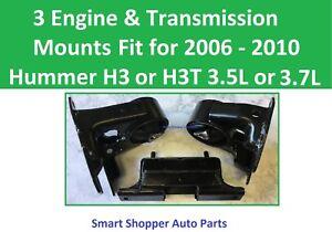 3 Motor Mounts Fit for 2006 2007 2008 2009 2010 Hummer H3 H3T 3.5L 3.7L Engine