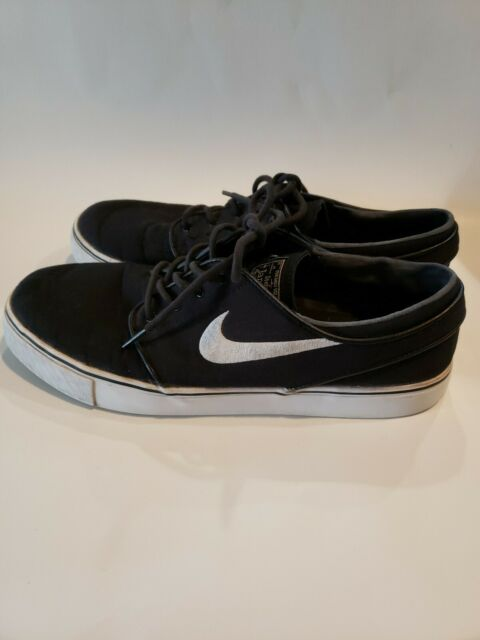1f7656e53e Nike SB Zoom Stefan Janoski OG Mens Black White Skate Shoes Size 11