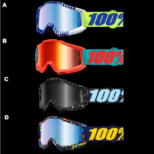 100 /% Prozent 2017 Accuri Brille Motocross Enduro Downhill MTB Goggle BMX Cross