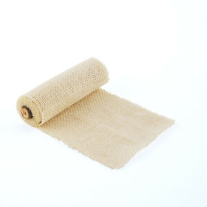 4-034-x-40-034-Ivory-Burlap-Roll-Wedding-Anniversary-Crafting-Supplies