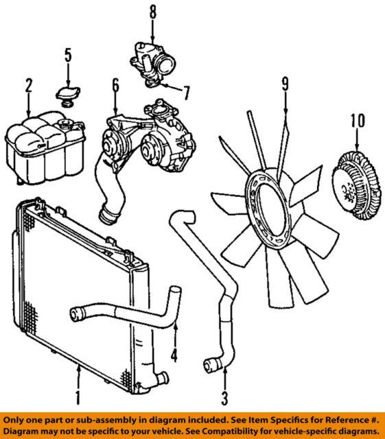 94 mercedes benz 400 sel engine cooling fan clutch blade priority ebay mercedes m272 engine diagram mercedes mercedes benz oem 94 99 s500 radiator cooling fan blade 1192050006