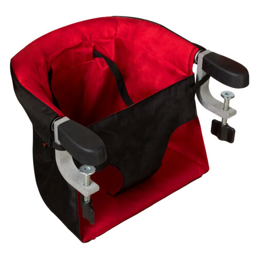 Mountain Buggy Evo Pod Clip-On Portable High Chair Chilli Brand With Carry Bag!!