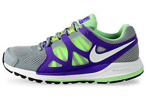 best cheap 14dd3 86f7e Details about WOMENS NIKE ZOOM ELITE+ SHOES SIZE 11 stealth white purple  volt 487973 015