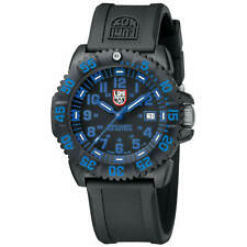 Luminox Men's Watch Navy Seal Colormark Quartz Dive Black Rubber Strap 3053