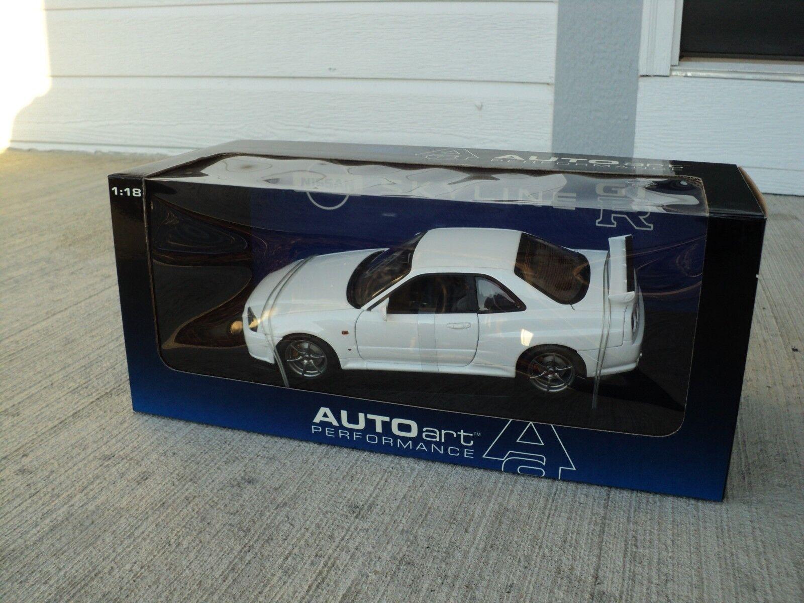 1:18 Autoart Nissan Skyline GT-R V-Spec R34