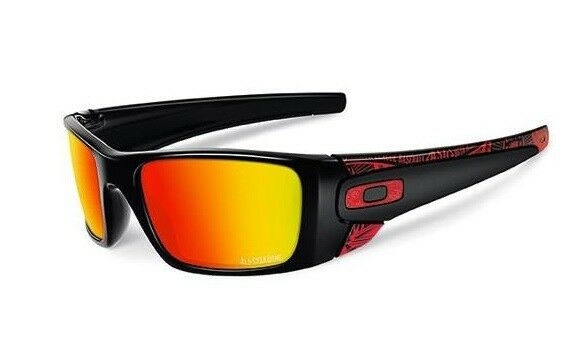 d02d7a76c7e Oakley Fuel Cell MLB 2015 All Star - Polished Black W  Ruby Iridium  Oo9096d5 for sale online