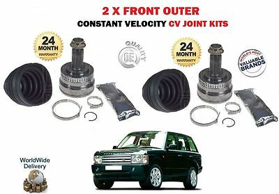 RANGE ROVER Mk3 L322 CV Joint Boot Kit Outer 4.4 4.4D 04 to 12 C.V Driveshaft
