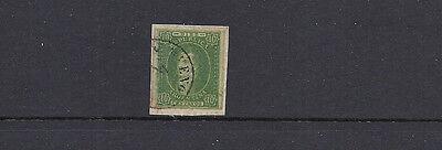 Vf Gebraucht Am Stück Schöne Unterscheidungskraft FüR Seine Traditionellen Eigenschaften scott 9 10c Grün Imperf Argentinien 1864-7