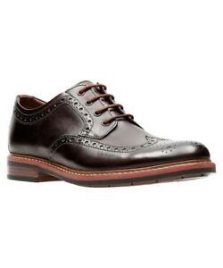 9baadac496 Image is loading NEW-CLARKS-BOSTONIAN-ARMON-WING-BURGUNDY-LEATHER-LACE-