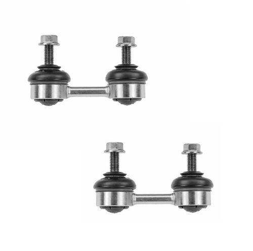 Pair Set 2 Rear Susp Stabilizer Sway Bar End Links Meyle HD For BMW E38 E52 740i