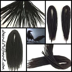 wool-dreadlocks-034-Black-Crow-034-10-pieces