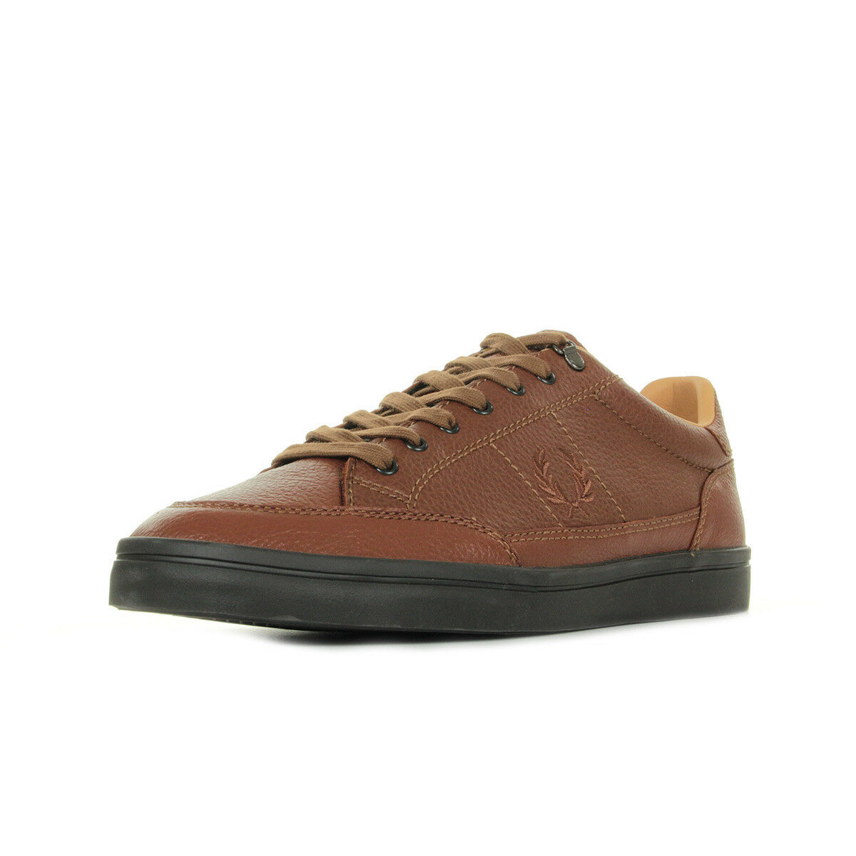 new product 34ad2 ad859 Schuhe Schuhe Schuhe Frot Perry Herren Deuce Premium Leather braun c89860