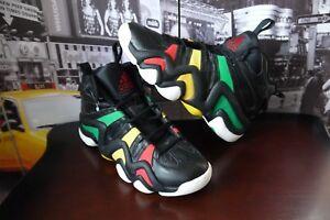 13ec59de7e8 RARE 2008 Men s Adidas Crazy 8 RASTA Kobe Bryant Bob Marley SZ US 10 ...