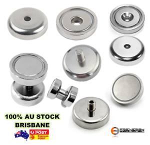 10x Strong 25mm 14kg Shallow Countersunk Pot Magnets | Door Latch Cabinet Gate  sc 1 st  Agriculture u0026 Forestry L&s Lighting u0026 Ceiling Fans ... & 10x Strong 25mm 14kg Shallow Countersunk Pot Magnets | Door Latch ...