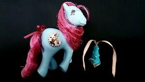 Princess-Royal-Blue-G1-Vintage-My-Little-Pony-With-Hat