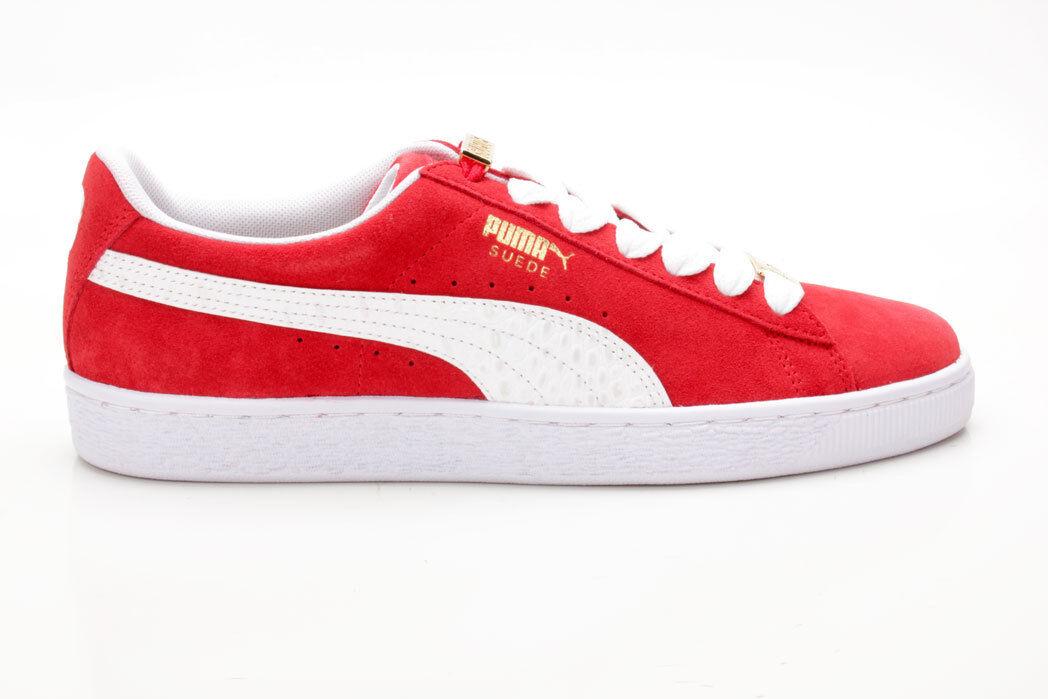 Puma Suede Classic BBOY Fabulous rot-weiß 365362 02 rot-weiß Fabulous 99939c