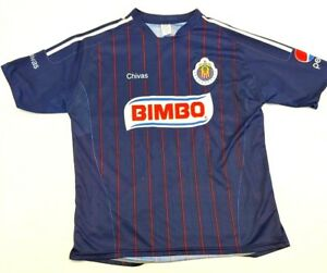 a6b84c61e Image is loading BIMBO-CHIVAS-soccer-jersey-Club-Deportivo-Guadalajara-made-