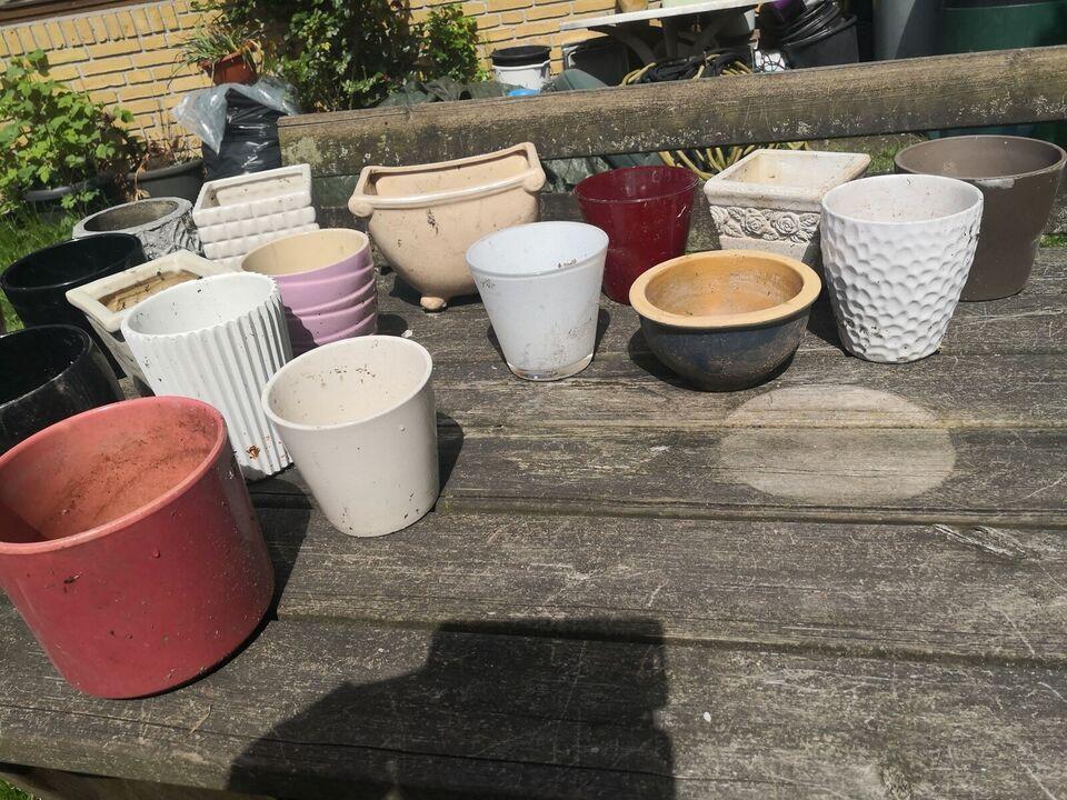 Porcelæn, Urtepotte skjuler, 20,-stykket