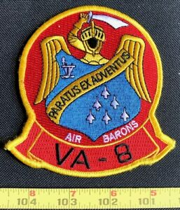 US Military VA-8 Attack Squadron Embroidered Iron On Patch