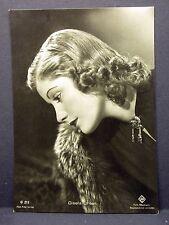 Gisela Uhlen - Actor Movie Photo - Film Autogramm-Karte AK (Lot-G-6384