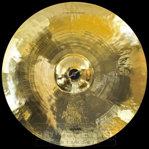 "Wuhan Medium Thin Crash//Ride Cymbal 21/"" Video Demo"