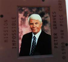 MISSION IMPOSSIBLE CAST PETER GRAVES Jim Phelps PHIL MORRIS  ORIGINAL SLIDE 6