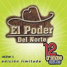 El Poder del Norte - Vol. 2-12 Grandes Exitos [New CD] Ltd Ed, Manufactured On D