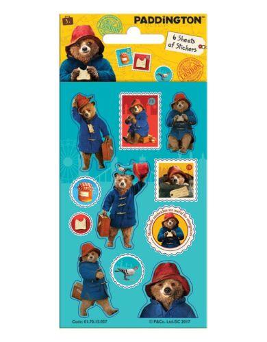 Fun Foil Stickers Birthday Christmas Xmas Gift Stationery PADDINGTON BEAR