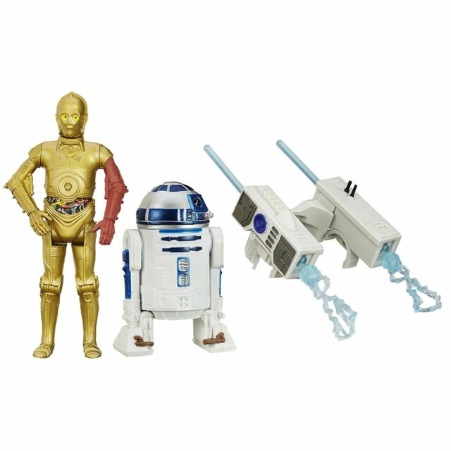 "Star Wars Force Awaken R2-D2 & C-3PO 3.75"" Action Figure"