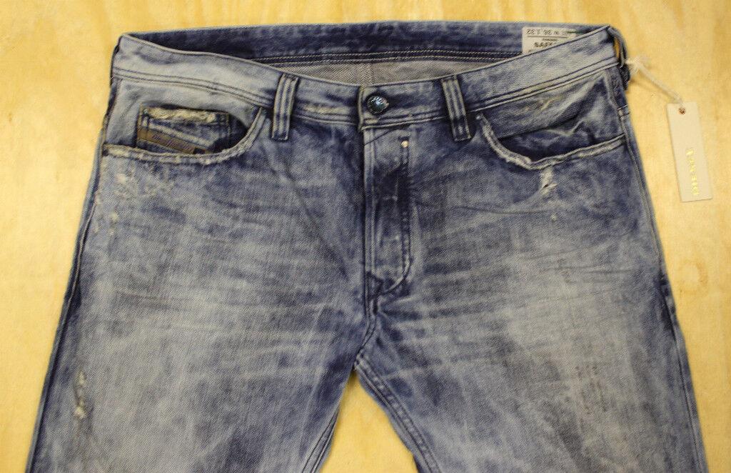 Diesel Jeans Safado 8E7 36X32 rara  100% Auténtico  orden ahora con gran descuento y entrega gratuita