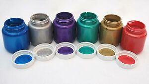 PEARL-PAINT-Red-Gold-Silver-Blue-Purple-Green