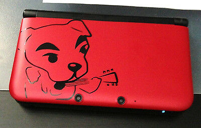 K K Slider Animal Crossing 3DS XL Vinyl Decal - For Your Nintendo Game System -