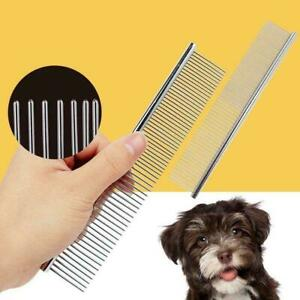 Hair-Comb-Hair-Brush-Shedding-Flea-For-Cat-Dog-Trimmer-Grooming-Pet-Metal-Teeth