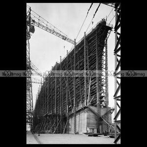 php-03788-Photo-CONSTRUCTION-PAQUEBOT-NORMANDIE-CHANTIERS-PENHOET-SAINT-NAZAIRE