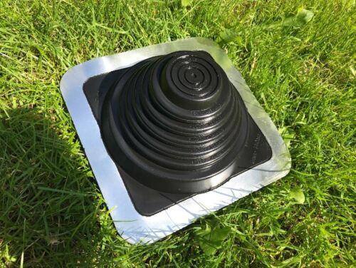 Sweden Roof Flashing Black EPDM Dektite all sizes Corrugated flat Masterflash