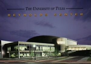 Donald-W-Reynolds-Center-University-of-Tulsa-Oklahoma-Sports-Arena-OK-Postcard