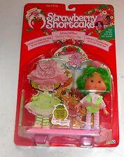 1991 Vintage Strawberry Shortcake-Lime Chiffon-Perfumado Doll-en Caja Mib Moc