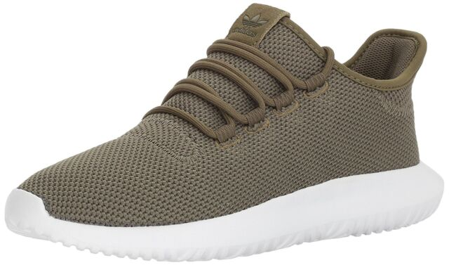 3a0e91e56f35 adidas Originals Tubular Shadow Knit Olive Cargo Green and White ...