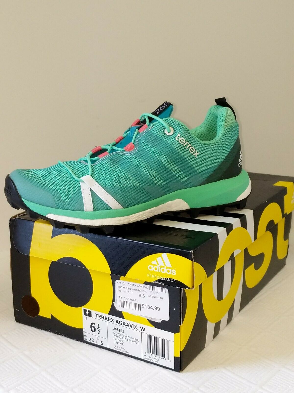 Adidas 6.5 NWB femminile  135 Terrex Agravic Running   Trail scarpe  nuovo stile