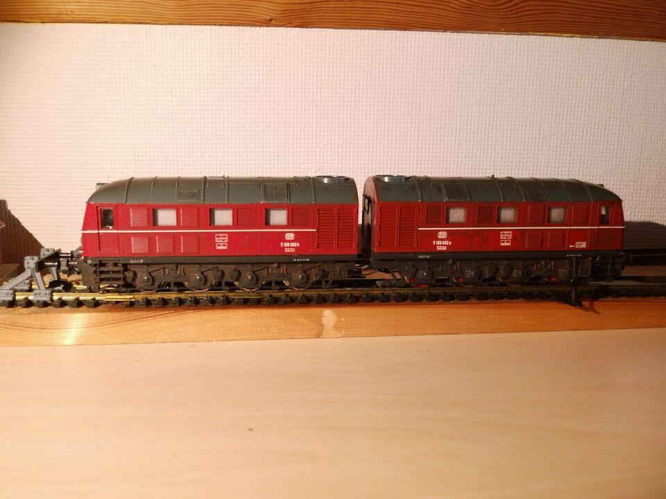 Modeltog, LIMA Dobbelt DB lokomotiv, skala HO