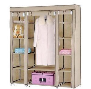 Ti Folding Wardrobe Cupboard Almirah-Xii- Double Best Quality