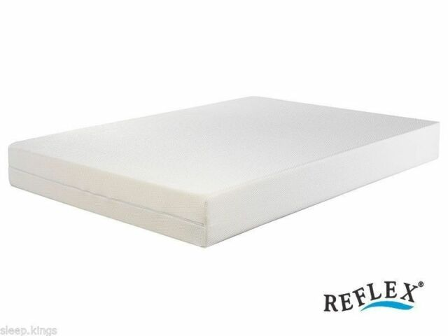 ALL SIZES CARAVAN MATTRESSES HIGH DENSITY REFLEX FOAM IN LUXURIOUS FABRIC