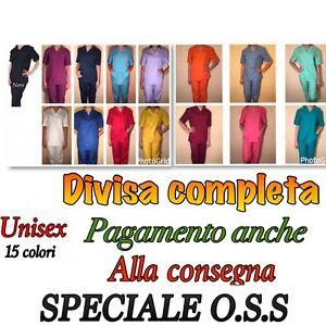 DIVISA-SANITARIA-OSPEDALIERA-ESTETICA-UNISEX-INFERMIERE-ESTETICA-MEDICALE-OSS